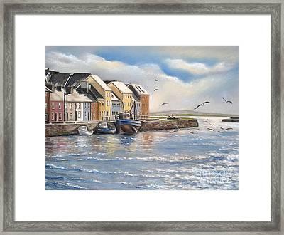 The Long Walk Galway Framed Print by Vanda Luddy
