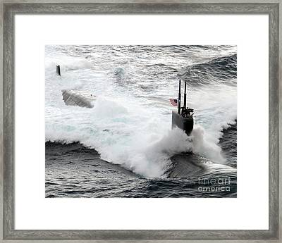 The Los Angeles-class Fast Attack Framed Print