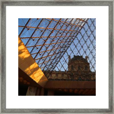 The Louvre Framed Print by Peg Owens