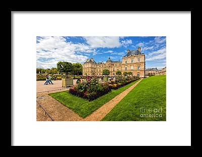 Palais Du Luxembourg Framed Prints