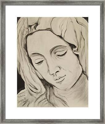 The Madonna Framed Print by Jean Billsdon