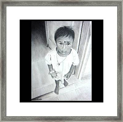 The Maid's Nephew Framed Print