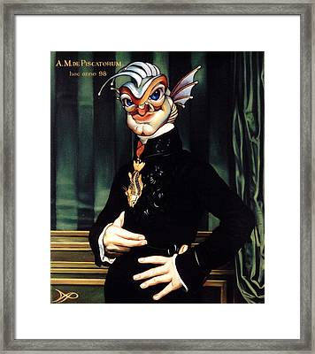 The Marquis De Piscatorum Framed Print