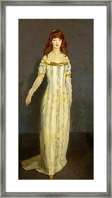 The Masquerade Dress Framed Print