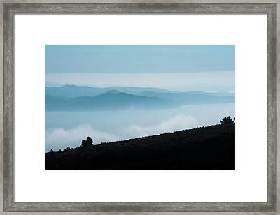 The Massif De Sainte Baume, Provence, France Framed Print
