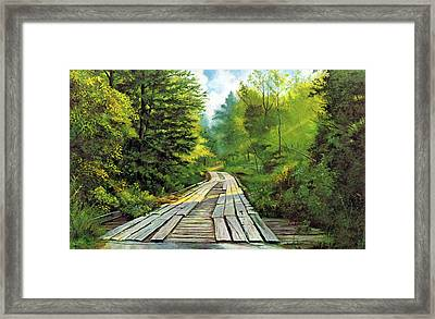 The Mcneely Bridge Framed Print