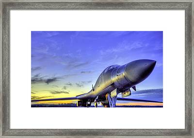 The Mighty Framed Print by JC Findley