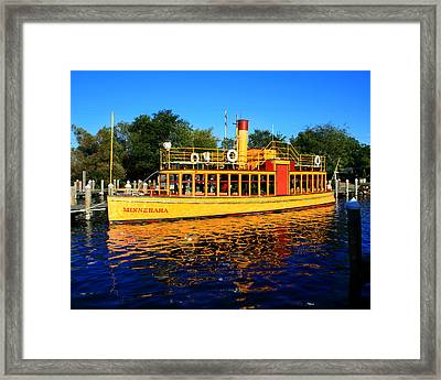 The Minnehaha Framed Print by Perry Webster