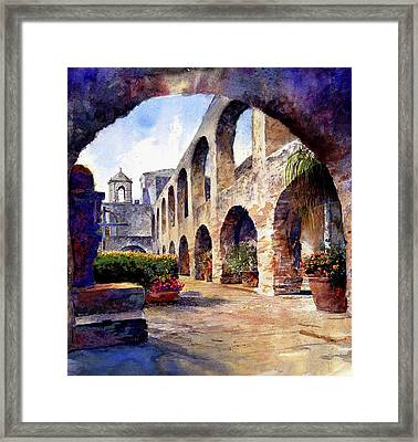 The Mission Framed Print by Andrew King