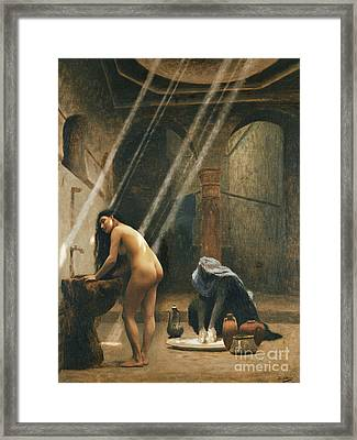 The Moorish Bath Framed Print