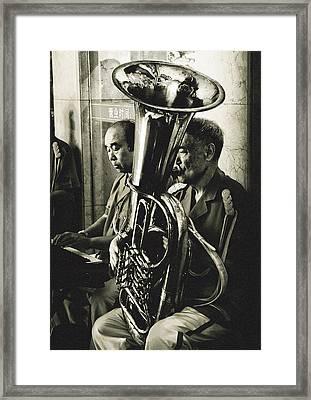 The Musicians Framed Print