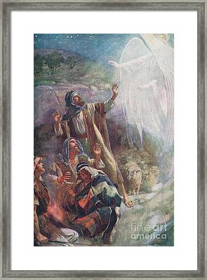 The Nativity Framed Print by Harold Copping
