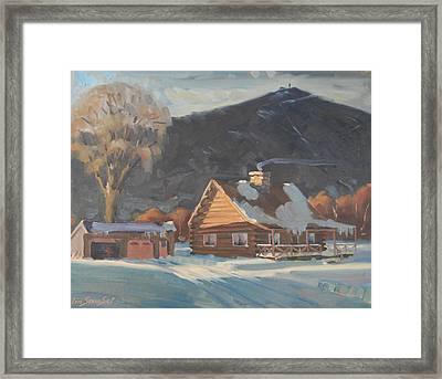 The Neighbor's Framed Print