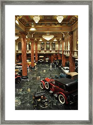 Grand Salon At The Nethercutt Framed Print by Kyle Hanson