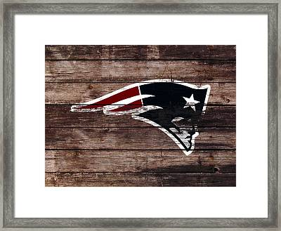 The New England Patriots 3b Framed Print by Brian Reaves