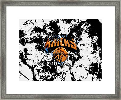 The New York Knicks Framed Print