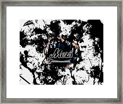 The New York Mets Framed Print by Brian Reaves