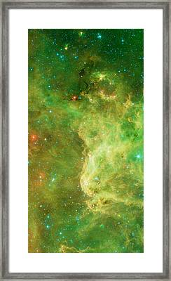 The North America Nebula Framed Print by American School
