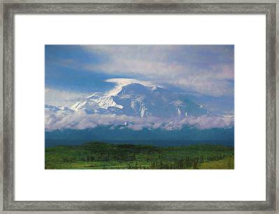 The North Face Framed Print
