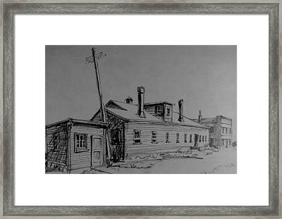 The Old Factory Framed Print by Chris  Riley