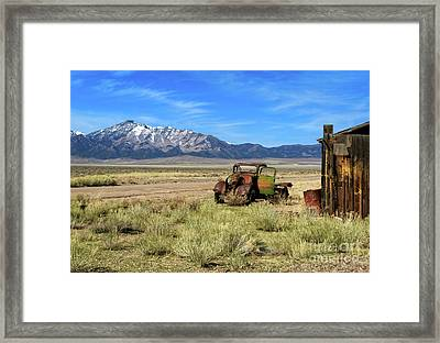 Framed Print featuring the photograph The Old One by Robert Bales