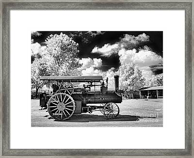 Framed Print featuring the photograph The Old Way Of Farming by Paul W Faust - Impressions of Light