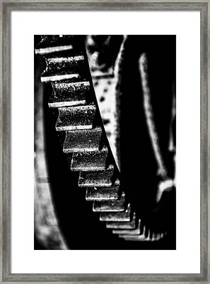 The Old Wheel Framed Print