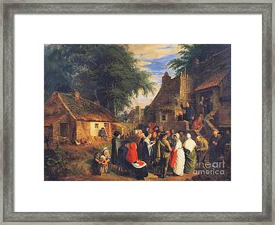 The Open Air Preacher Framed Print by Celestial Images
