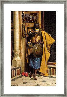 The Palace Guard Framed Print