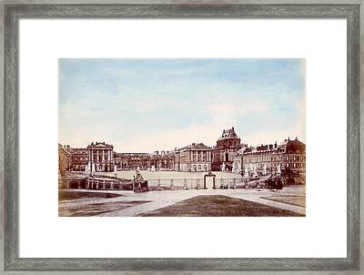 The Palace Of Versailles. C. 1880 Framed Print by Everett
