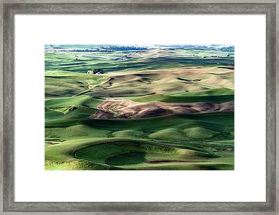 The Palouse Framed Print
