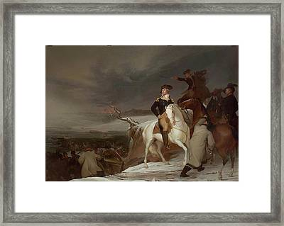 The Passage Of The Delaware Framed Print