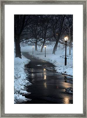 The Path Framed Print by JC Findley