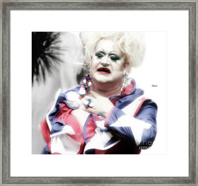The Patriot   Framed Print by Steven Digman