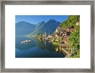 The Pearl Of Austria Framed Print by JR Photography