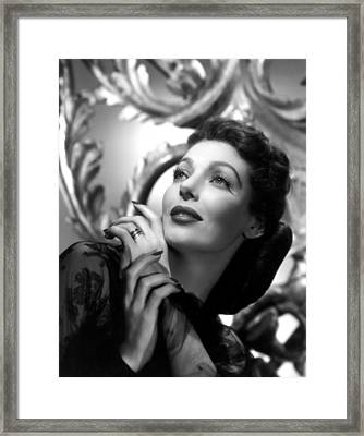 The Perfect Marriage, Loretta Young Framed Print