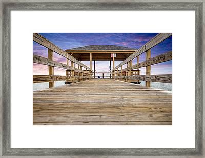 The Pier Framed Print by Al Hurley