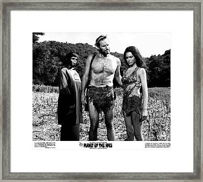 The Planet Of The Apes 1968 Framed Print by The Titanic Project