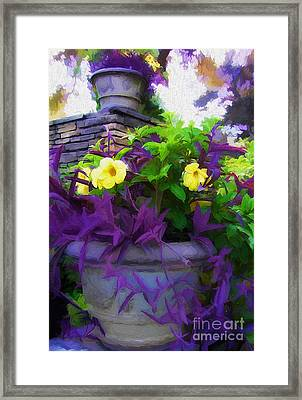 The Planter Framed Print by Mike Nellums