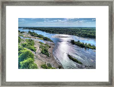 The Platte River Framed Print