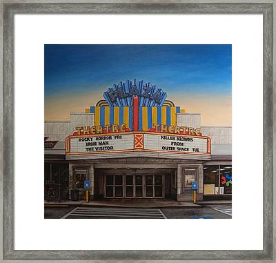 The Plaza Framed Print by Rick McClung
