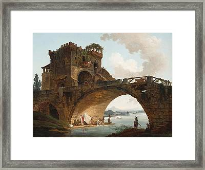 The Ponte Salario Framed Print by Mountain Dreams