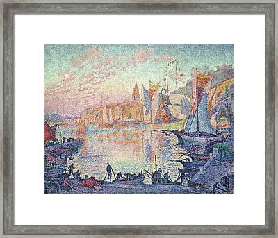 The Port Of Saint-tropez Framed Print