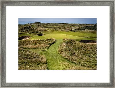The Postage Stamp - Royal Troon Golf Course Framed Print
