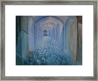 The Prayers... Framed Print by Xueling Zou