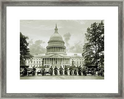 The Presidents Club Framed Print