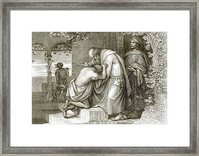 The Prodigal's Return Framed Print