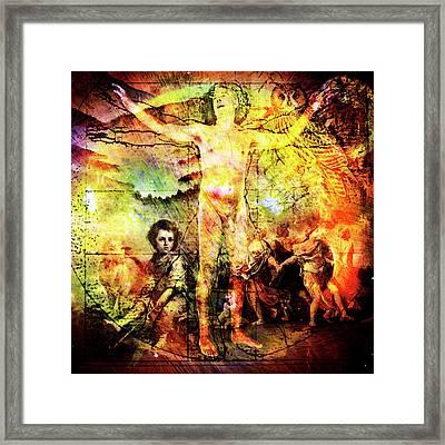 The Prophet On Death Framed Print by Barry Novis