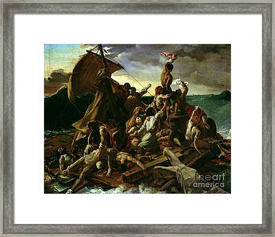 The Raft Of The Medusa Framed Print