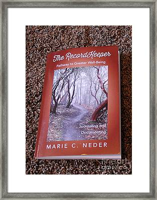 Framed Print featuring the photograph The Recordkeeper by Marie Neder
